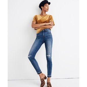 "{Madewell} 9"" Mid-Rise Skinny Jeans Sz 29"